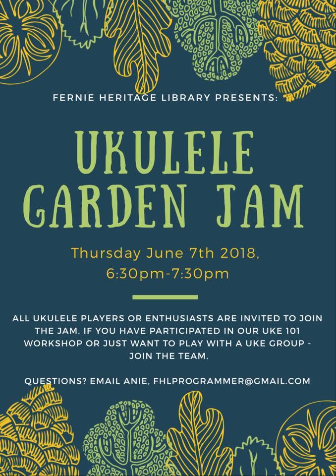 Ukulele Garden Jam