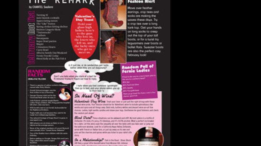 Fernie's Social Page in the Fernie Fix Magazine